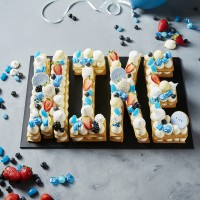 Four Letter Cookie Cake - Mike