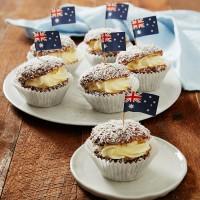 Chocolate Lamington Cupcakes