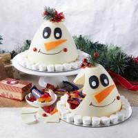 Frosty the Snowman Smash Cake