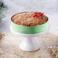 Light Festive Fruit Cake