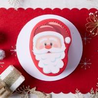 Iced Christmas Santa Mud Cake