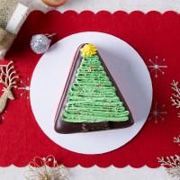 Christmas Tree Mud Cake