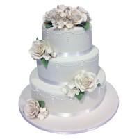 Classic Dream Wedding Cake