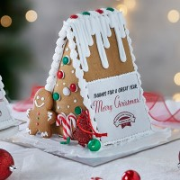 Personalised Gingerbread Chalet