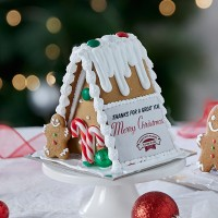 Personalised Gingerbread Chalet - Small