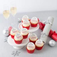 Custom Christmas Cupcakes