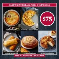 Bake Dinner Easy Pack