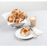 Hot Cross Bun Basket