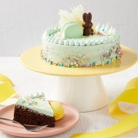 Vegan Chocolate Cake - Easter