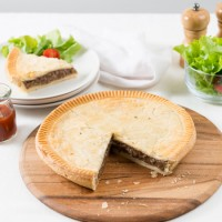 Family Beef Pie - Slice