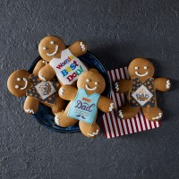 Father's Day Gingerbread Man - Pack of 6