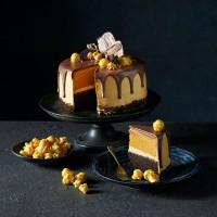 Choc Caramel Drip Cake