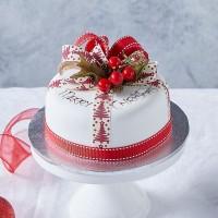 Iced Parcel Mud Cake