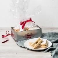 Festive Yo Yo Shortbread Biscuits