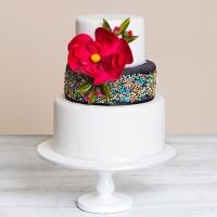 Floral Freckles Custom Cake
