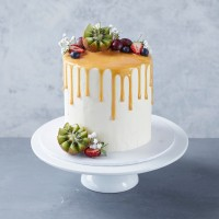 Fruit Drip Celebration Cake