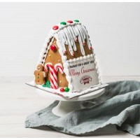 Personalised Christmas Gingerbread Chalet