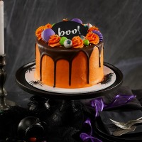 Halloween Boo! Drip Cake