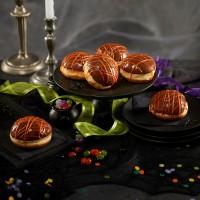 Halloween Nutella Spider's Web Donut