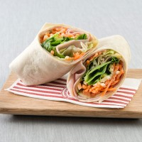 Ham, Cheese & Salad Wrap