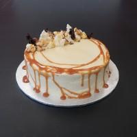 Caramel Banana Budget Birthday Cake