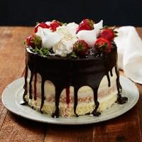 Lamington Drip Cake