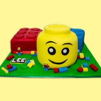 Building Blocks - Lego inspired Custom Cake
