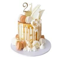 Luxury Caramel Drip Cake