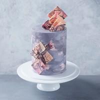 Marble Universe Celebration Cake