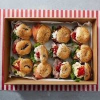 Deluxe Mixed Mini Rolls Platter