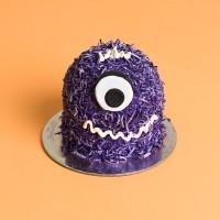 Mini Monster Mud Cake - Purple