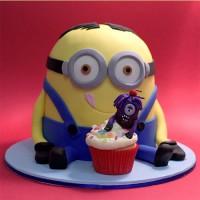 Minions Inspired Birthday Cake