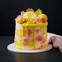 Mother's Day Magnifique Drip Cake - Vanilla
