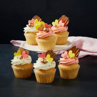 Mother's Day Vanilla Cupcakes - Box of Six