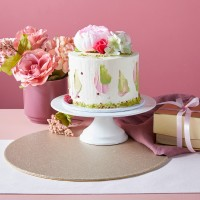 Mother's Day Beautiful Buttercream Cake - Mud