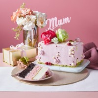 Mother's Day Neapolitan Cake