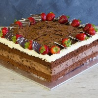 Chocolate Mousse Cake 13""
