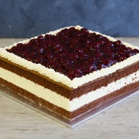 Cherries on the Run Cake - Square (8.5 inches)