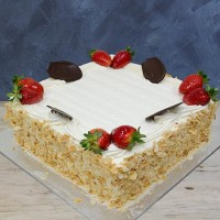 Continental Custard Cream Cake