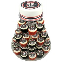 AFL Football Team Cake w Cupcakes