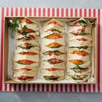 Premium Vegetarian Sandwiches Platter