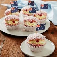 Raspberry Lamington Cupcakes