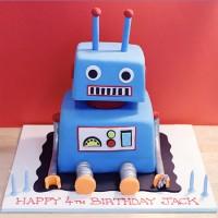 Robot Custom Cake