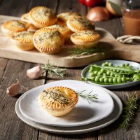 Lamb and Rosemary Party Pie