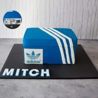 Sneaker Box Birthday Cake