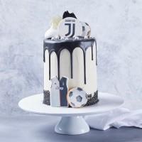 Soccer Drip Custom Cake
