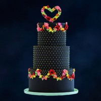 Black Diamond Celebration Cake