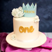 Kids Crown Birthday Cake
