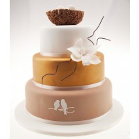 Sweet Nest Wedding Cake