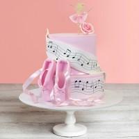 Sweet Ballerina Celebration Cake